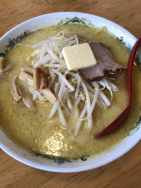 札幌館の味噌カレー牛乳ラーメン