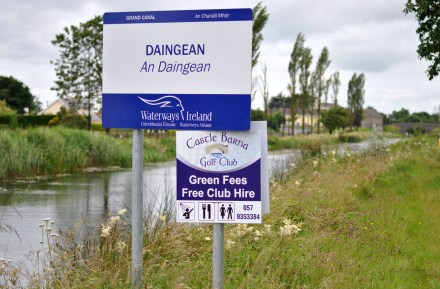 The sign says it all... times are tight... especially at a large number of golf courses built during the boom...