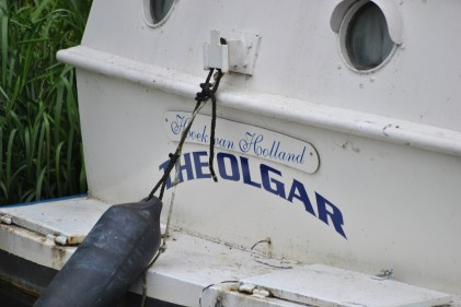 A closer look at the boat's name reveals it may just be a visitor...