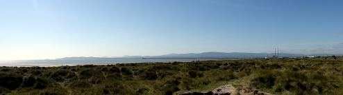 Dublin Bay Panorama on a bright August day...