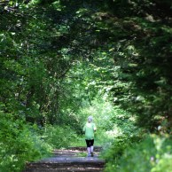 Lone lady out in the woods... the definition of FREEDOM!!!