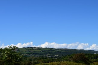 The Irish landscape on a sunny day... rather pleasant!