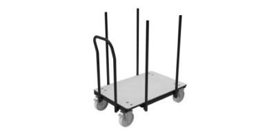 Chariot tables pliantes
