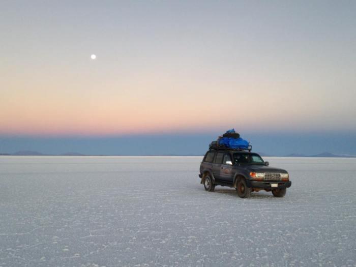 Desert de sel Tour Uyuni depuis Tupiza Bolivie