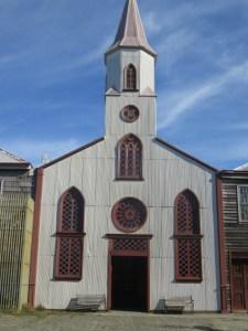 Église en bois Île Chiloé Chili