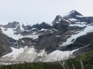 Glacier vallée Française Torres del Paine Patagonie Chili