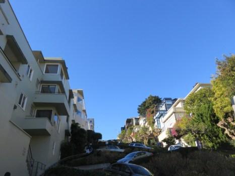 Lombard street San francisco Californie