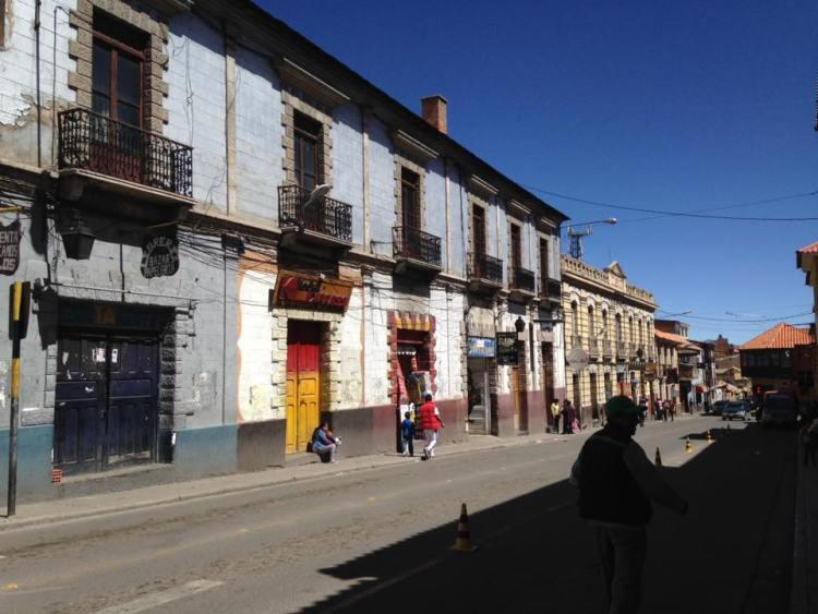 Rue Potosi Bolivie