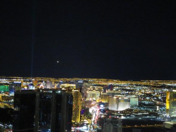 Vue de la Stratosphère hotel LAs Vegas