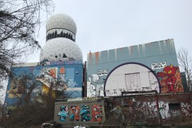 Berlin Teufelsberg vue extérieur