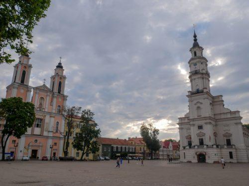 Kaunas Lithuanie Place principale
