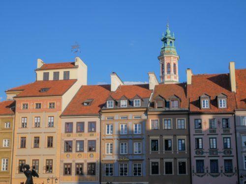 Pologne Varsovie Architecture