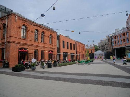 Pologne Varsovie Exterieur musée Vodka