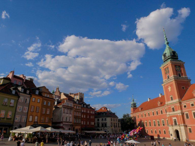 Pologne Varsovie Place principale
