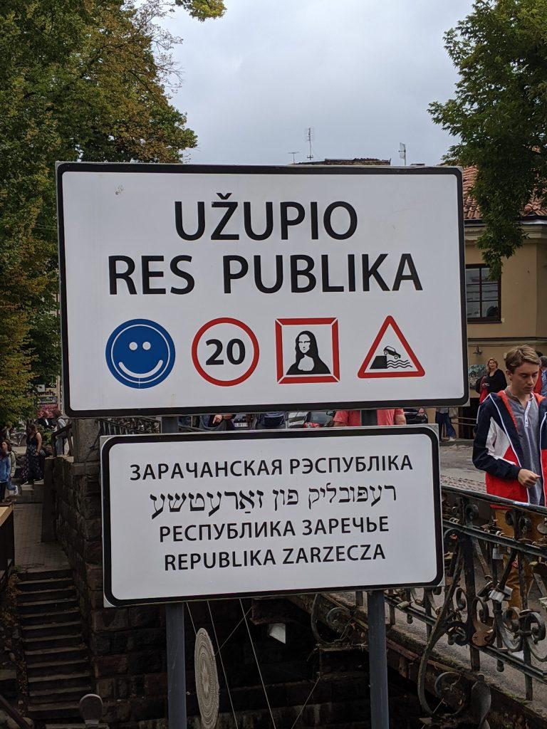 République Uzupio Vilnius