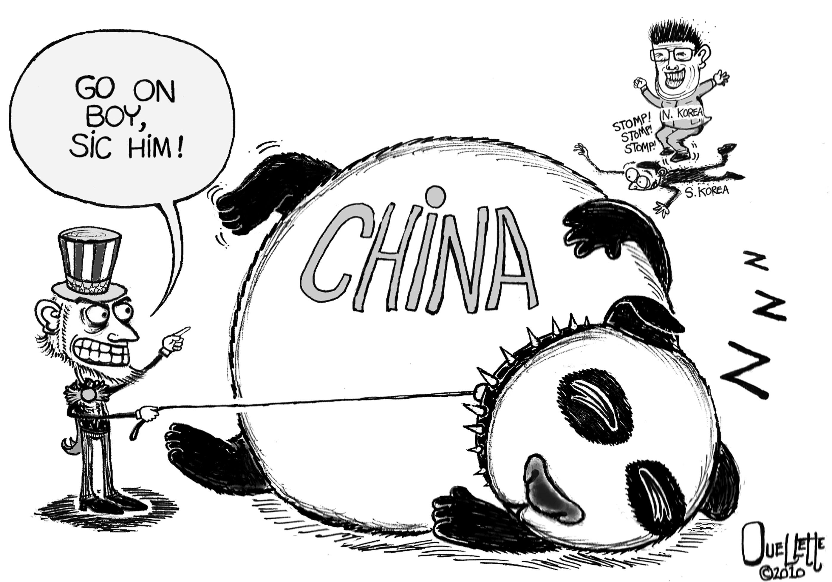 The Sleeping Panda