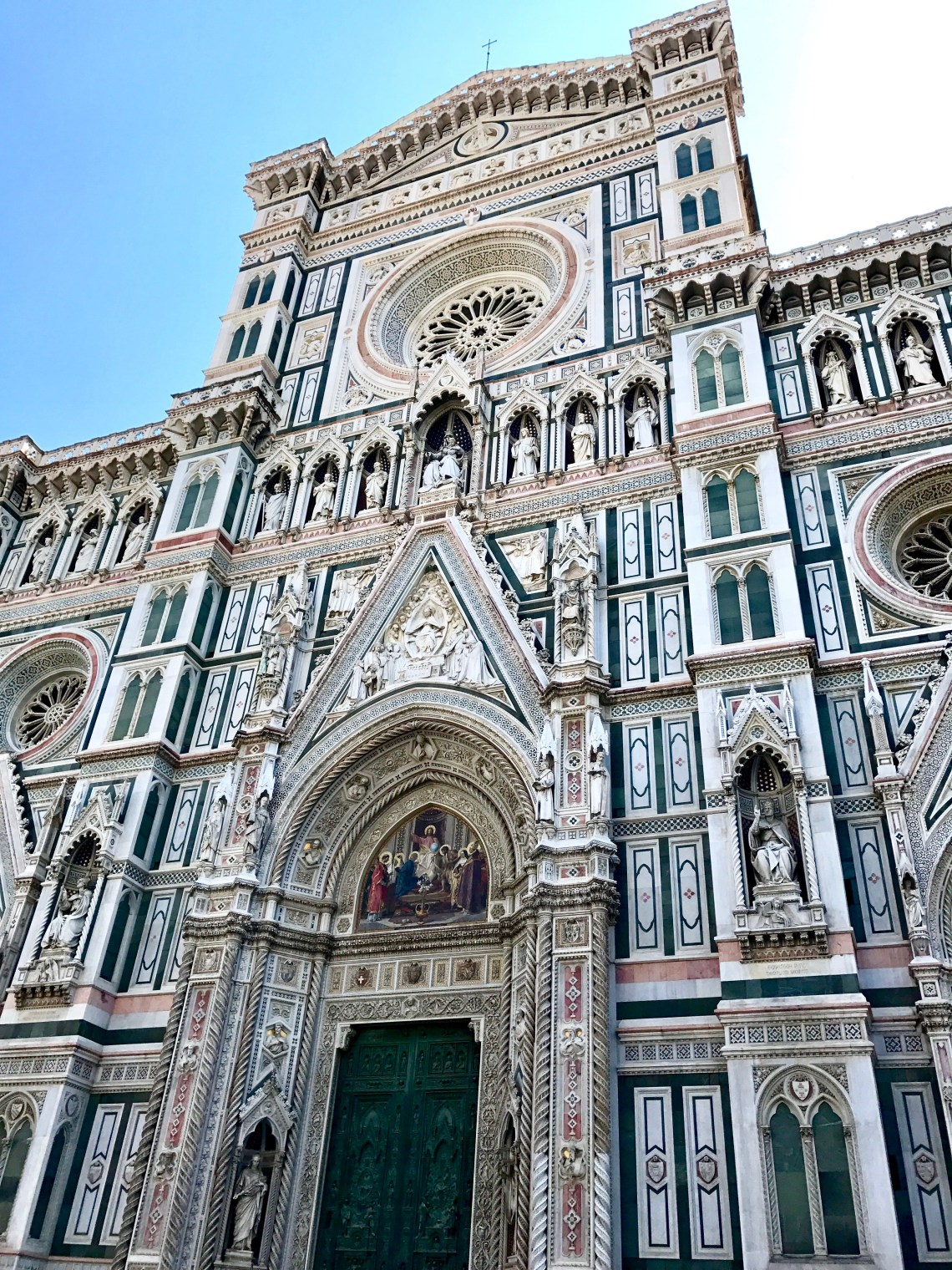 Front of the Duomo church