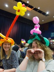 Pudsey ballons