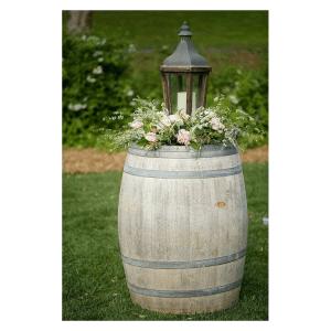Tonneau en location pour décoration de mariage