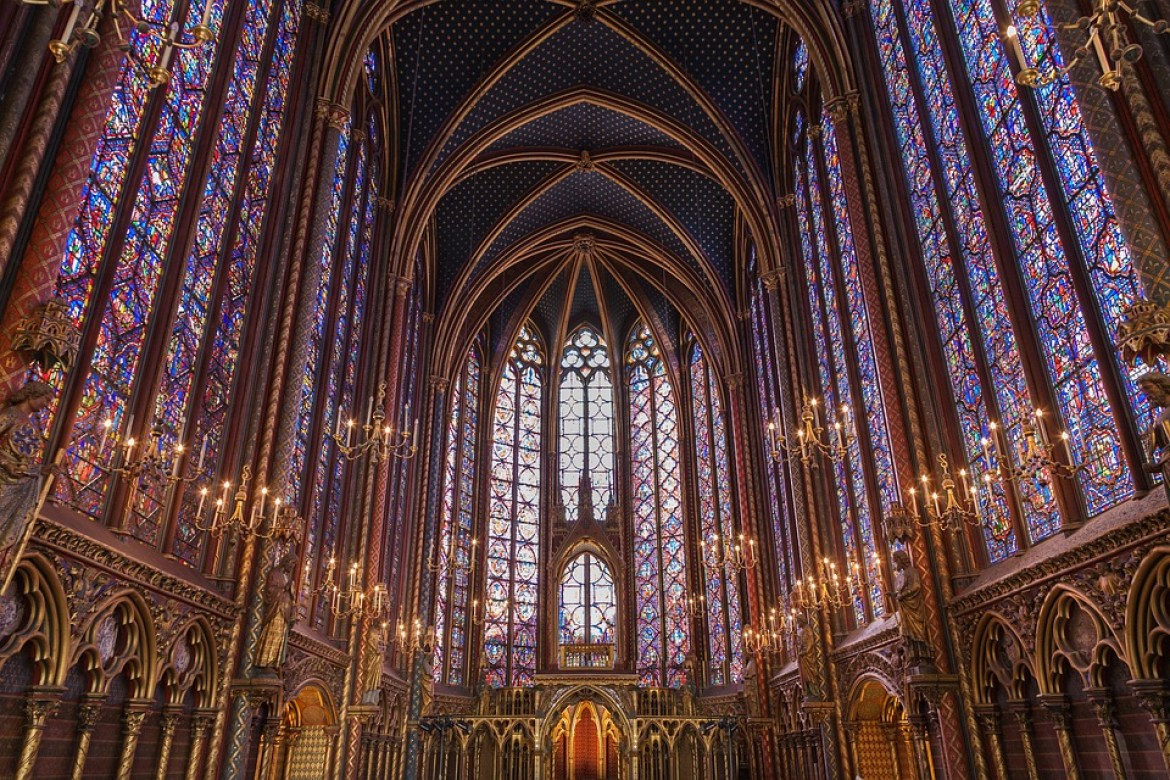 Sainte-chapelle Paris Church Stained Glass