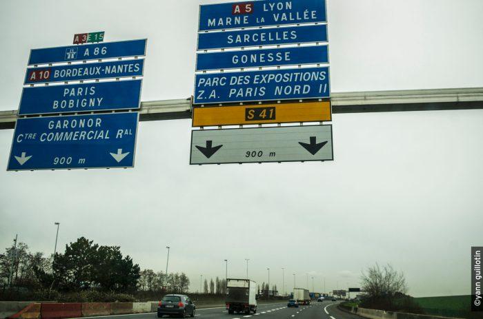 Accès autoroute A1