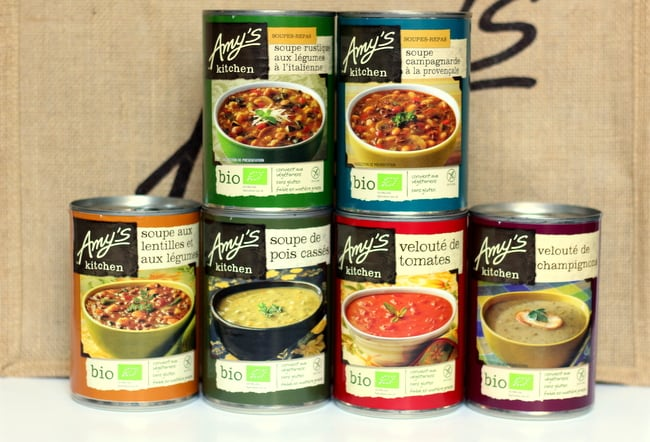 Oui In France Spotlight on healthy brands Amys Kitchen in France