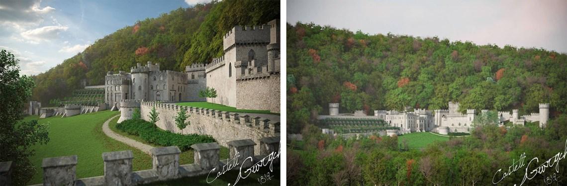 Gwrych Castle Visuals