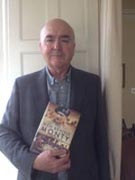 Richard Mead with his shortlisted title The Men Behind Monty