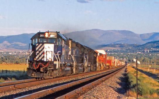 From David Cable's Rail Across North America. Courtesy of David Cable and Pen & Sword Books