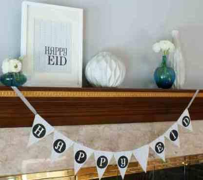 Banderole Happy Eid