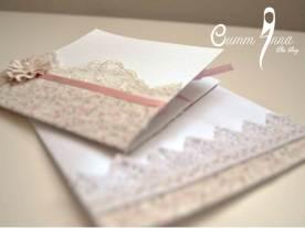 Carte de Voeux OummAnna et son enveloppe assortie