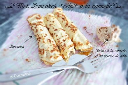 pancakes céto à la cannelle