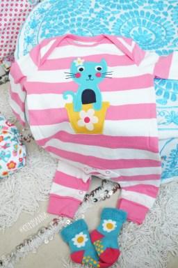 Frugi Cat friends Newborn set