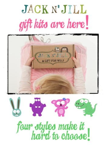 Gift Kit with kid