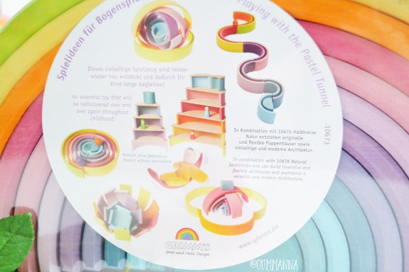 LITTLE EARTH FARM REVIEW Grimm's pastel tunnel