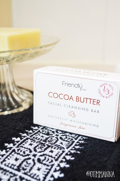 Friendly soap cocoa butter facial soap