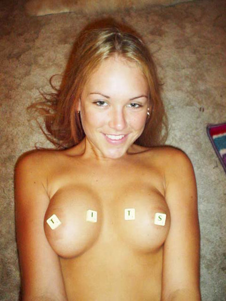 Nude Scrabble  Tits Blowjob