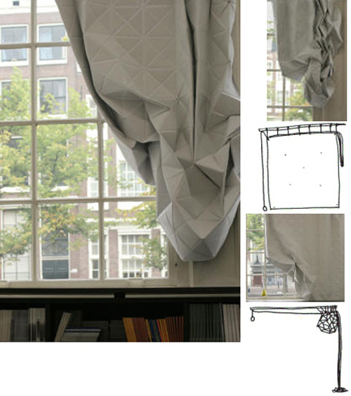 Ouno Design Faceted Curtain Vs Magnetic Curtain – Copycat?