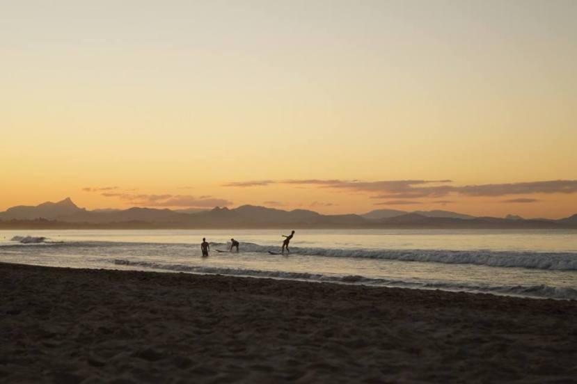 Surfer à Byron Bay - Australie