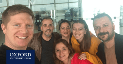 The OUP Turkey team at IATEFL 2019