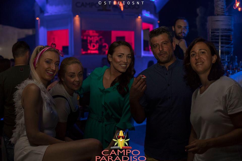 Με τους DJs  Ralf Magiridis, Christ Volis & tasos tsani διασκέδασαν στο θερινό club campo paradiso στα Σέρβια, το βράδυ της Παρασκευής 6 Ιουλίου