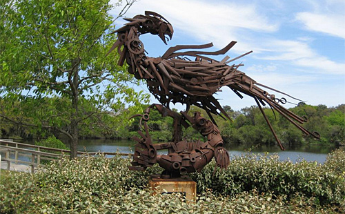 Lakeside Park - Sculpture Garden & Veterans Memorial