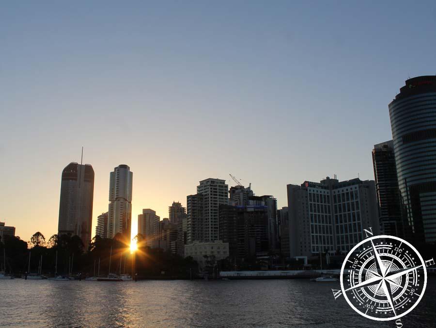 """Sonnenuntergang vom """"The Cliffs Boardwalk"""""""
