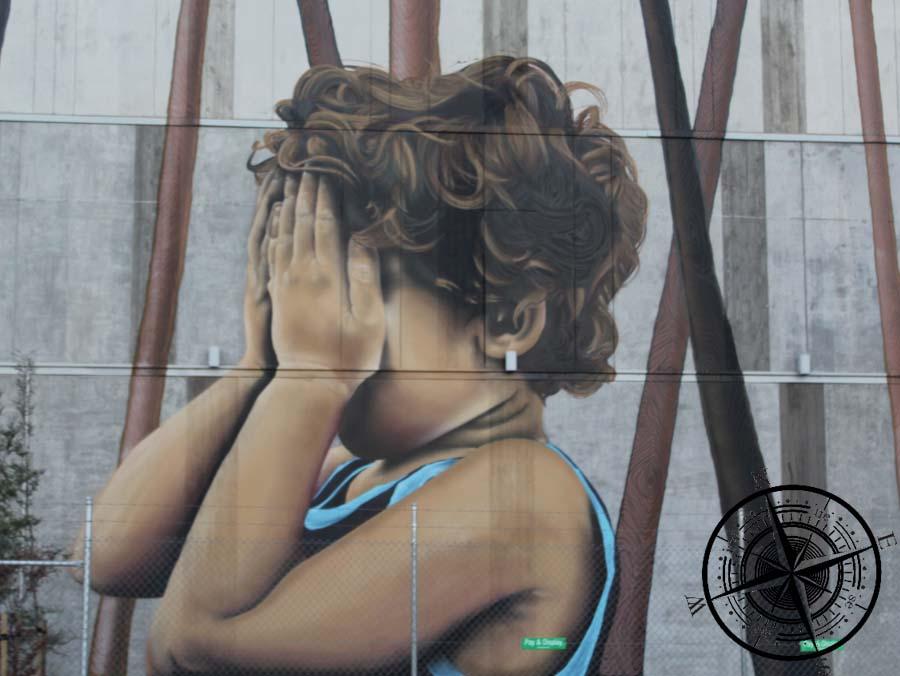 Ein Grafitti Gemälde