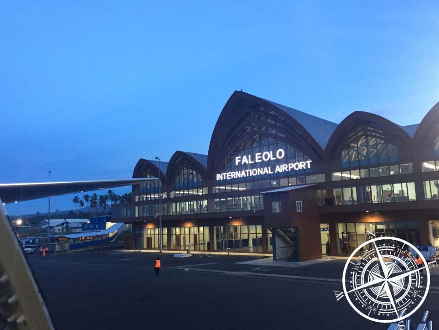Der Flughafen von Apia (Samoa)