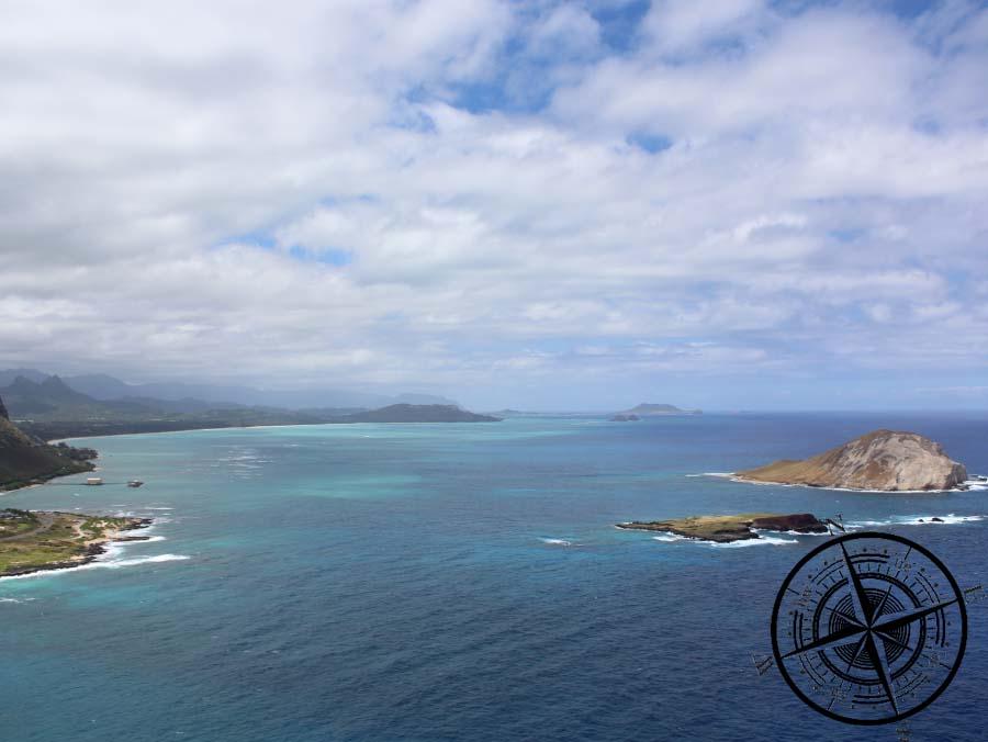 "Atemberaubender Blick entlang des ""Waimanalo Beach"""