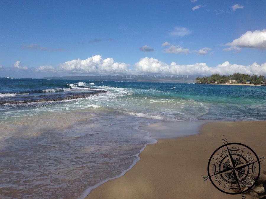 Der Strand vom Camp Mokuleia