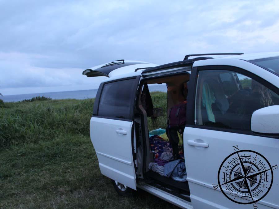 Unser Ausblick vom Campingplatz