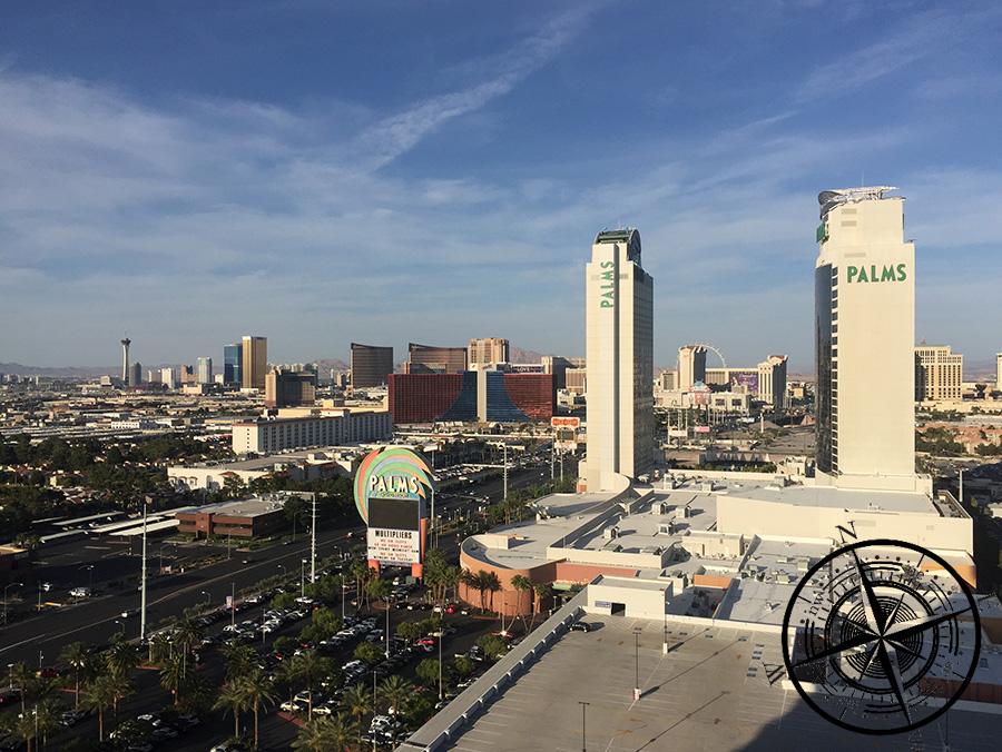 Ausblick von unserem Balkon (Las Vegas)