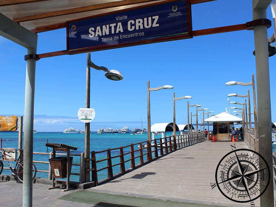 Der Pier in Puerto Ayora
